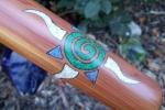 Cedar Spiral Sun #237b